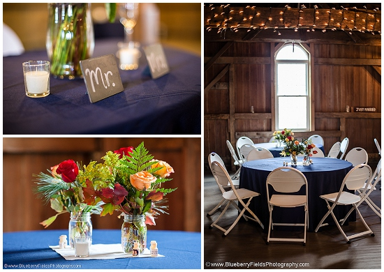 Intimate DIY Barn Wedding by Blueberry Fields Photography