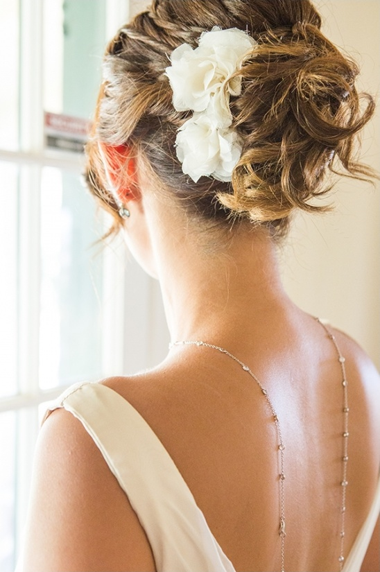 elegant wedding updo