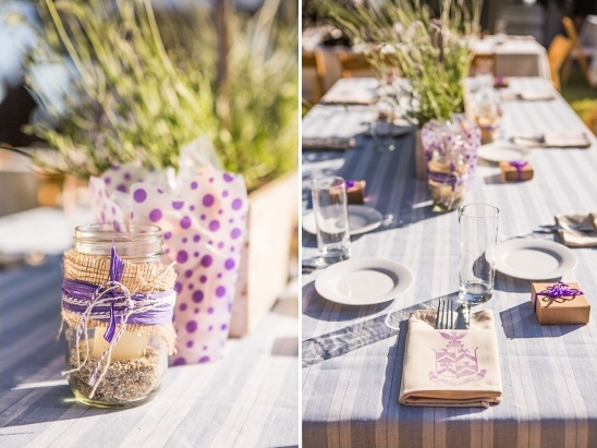 eco-friendly table decor