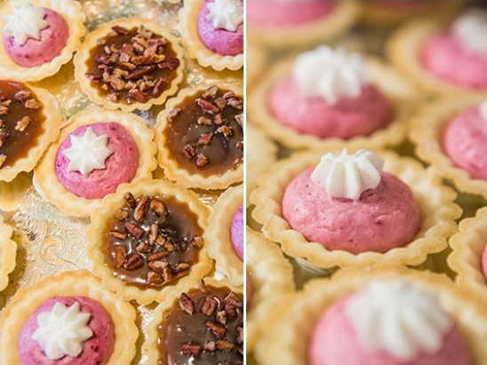 mini tart wedding desserts