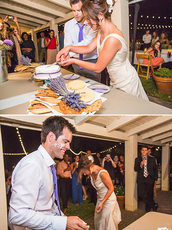 modern wedding cake cutting songs 2017 an eco friendly lavender and white wedding 17471