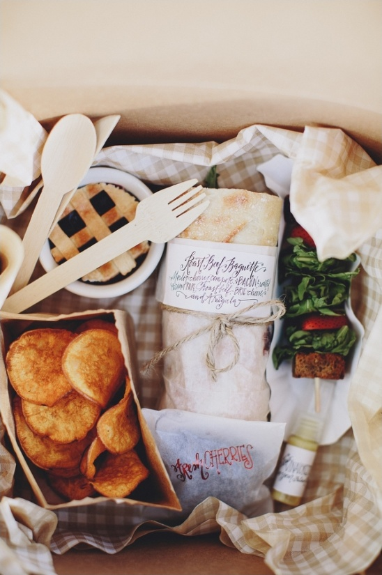 gourmet picnic dinner in a box by attitude on food