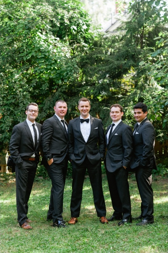 black and white groomsmen looks