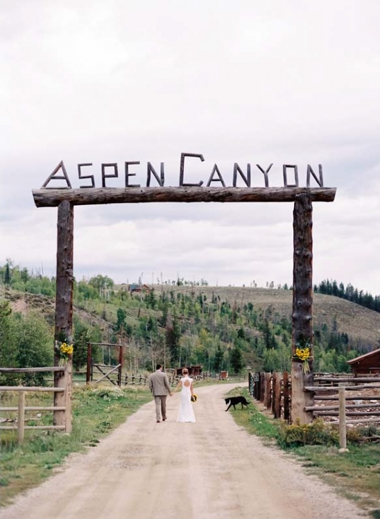 Aspen Canyon wedding