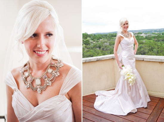 A Colorful Valentine's Day Wedding at One World Theater in Austin, TX