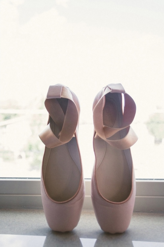 ballet slipper wedding shoes