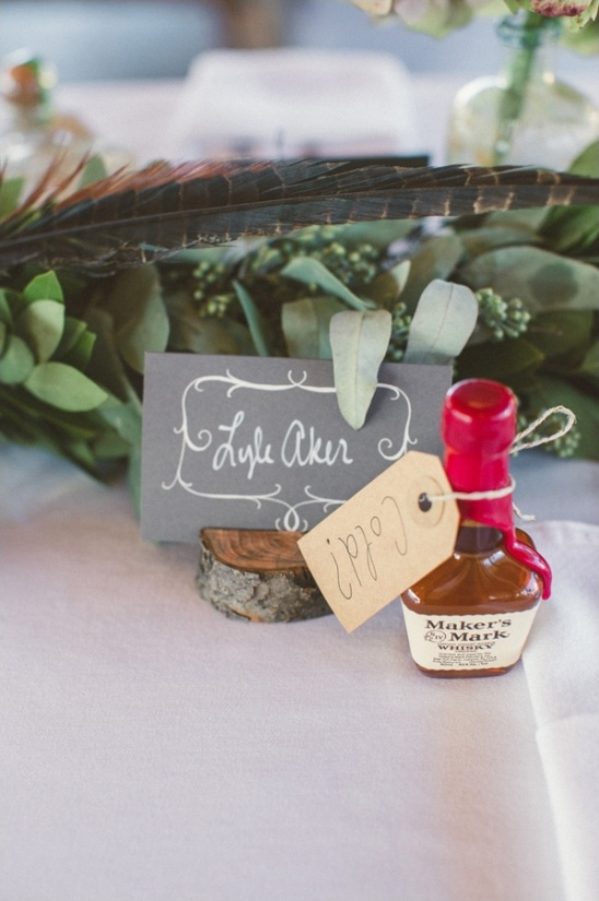 makers mark wedding favors