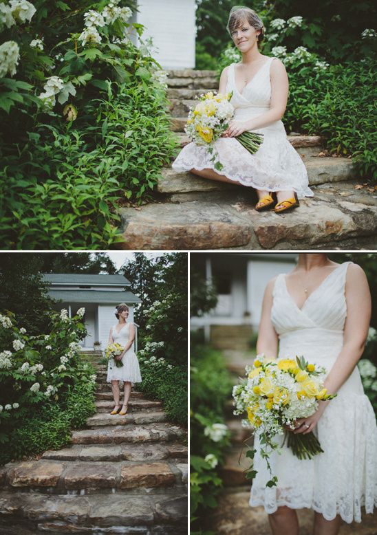 lace white dress from Ann Taylor