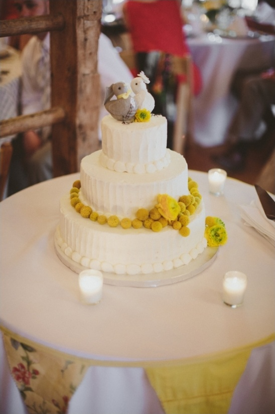 simple wedding cake table ideas