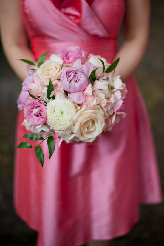Pink and White Florida Wedding by The Studio B Photography