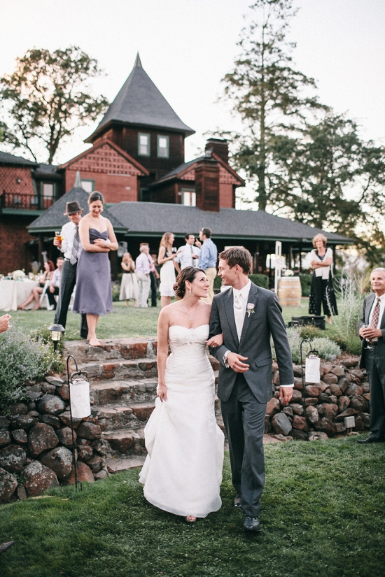 Lavender and Wine love at a beautiful Healdsburg Backyard Wedding