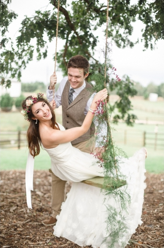 ethereal wedding gown by ruche