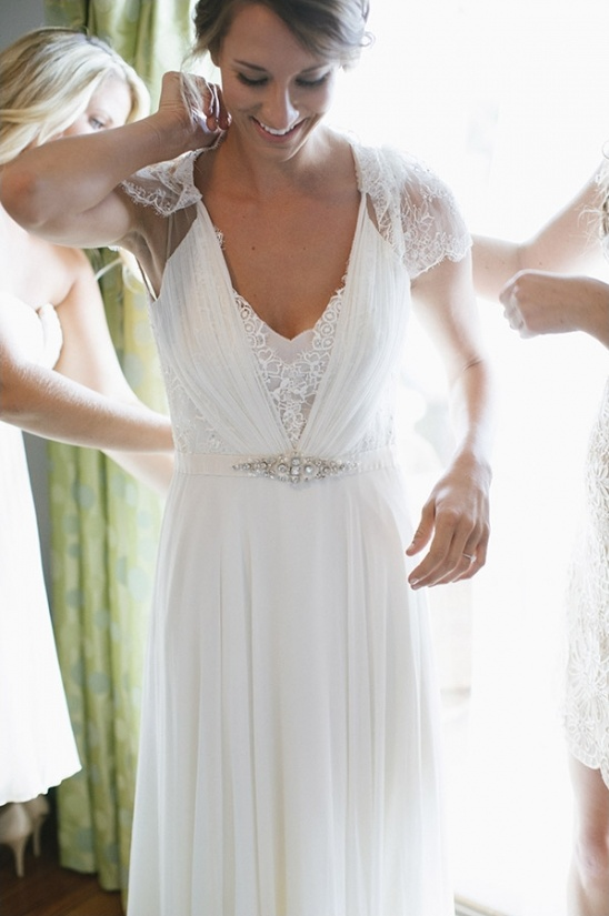 Dentelle Jenny Packham and Plantation Wedding