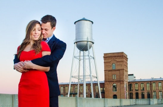 Urban Georgia Engagement Session by Eliza Morrill Photography