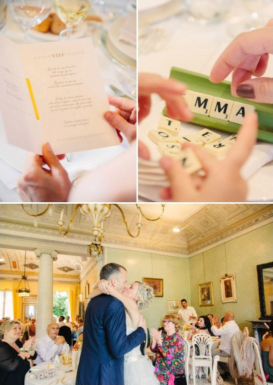 elegant book themed wedding reception