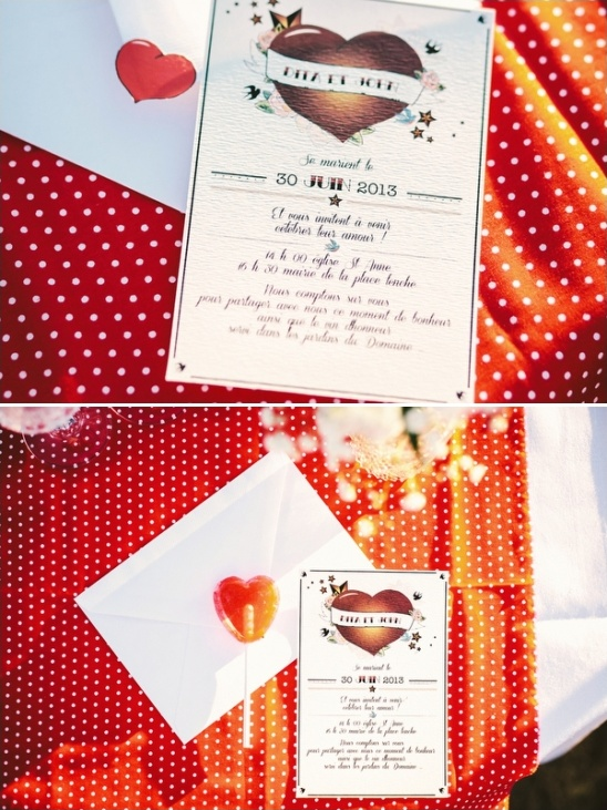 Rockabilly Wedding Invites