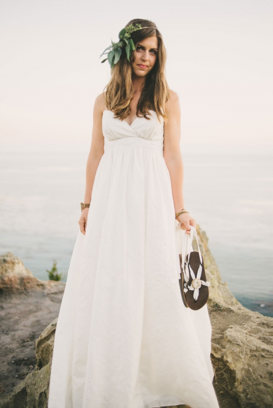 Win a Silk Heirloom Wedding Dress & Bridal Sandals that Empower Women!