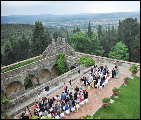 Wedding in a Florentine Castle