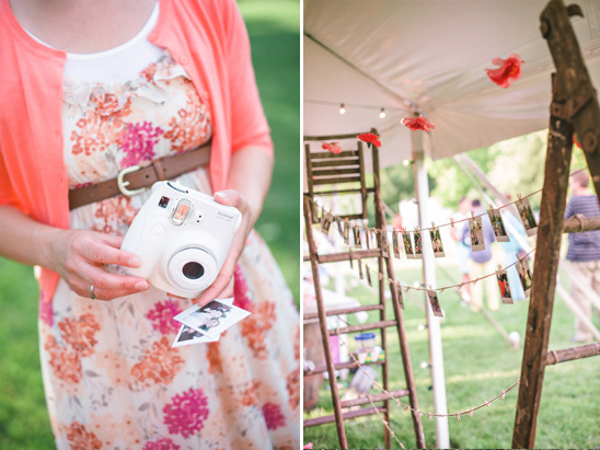 capture your guests smiles forever with a polaroid guestbook