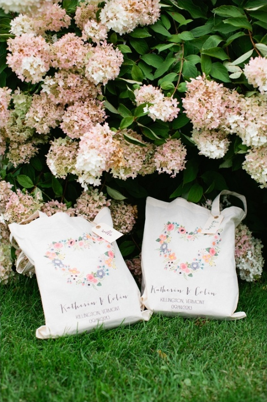 wedding chicks customized totes