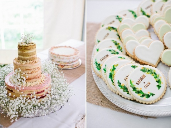 wedding cakes and wedding cookies