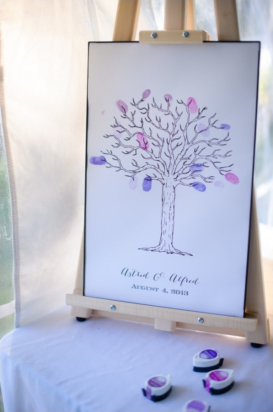 wedding chicks thumbprint printable