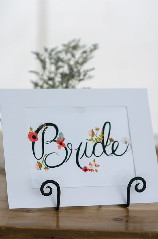 free printable wedding sign