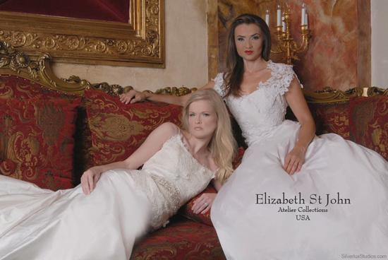 Elizabeth St John at Soliloquy Bridal Couture