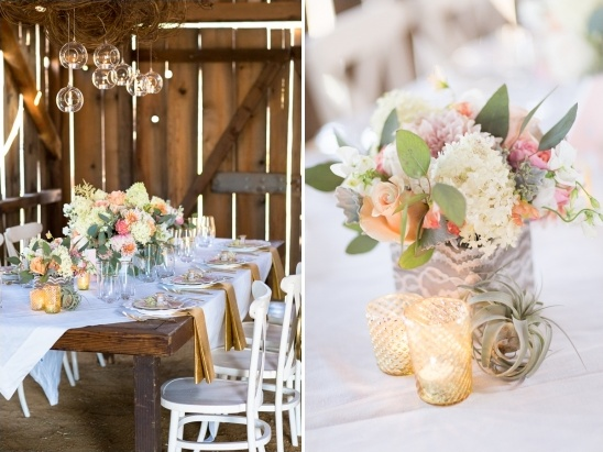 Shabby Chic Barn Wedding