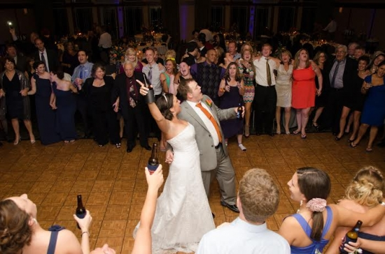 "Amanda + Zach {Groomsmen Serenade Bride with ""I Love you Baby""}"