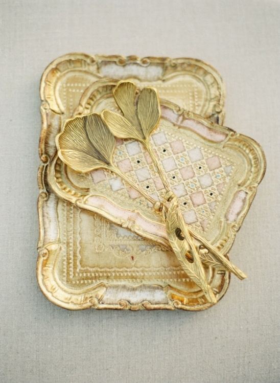 Victorian serving trays