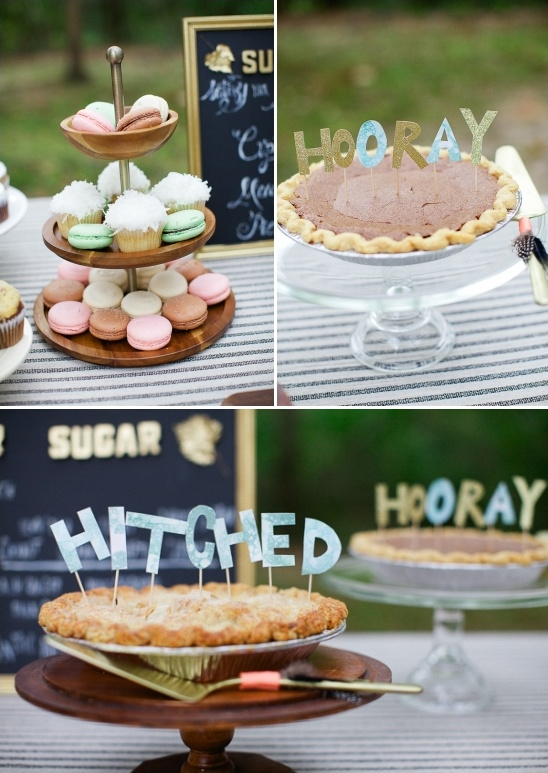 cute diy pie toppers
