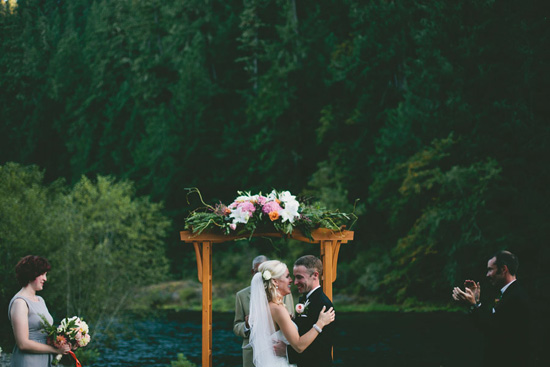 Oregon River Front Wedding by Renascent Photography