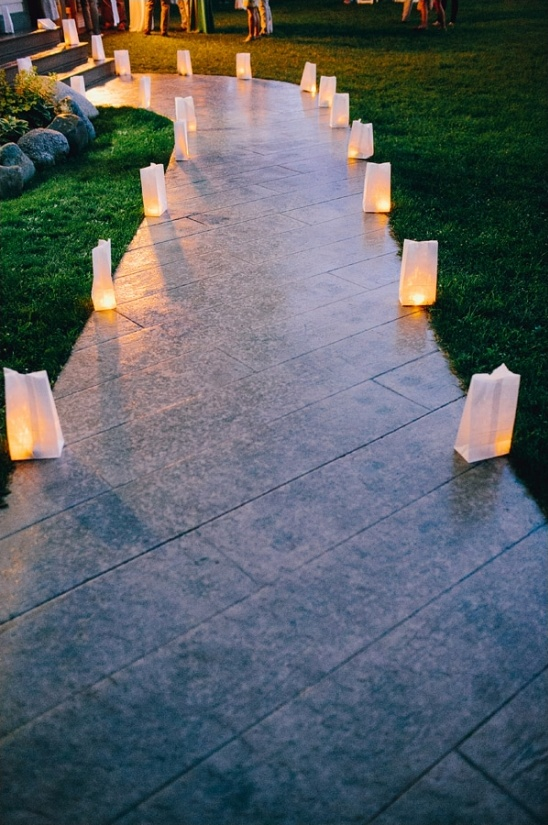 luminaries to light your reception