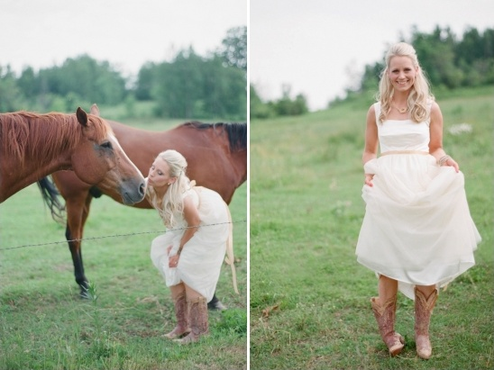 cowgirl wedding ideas