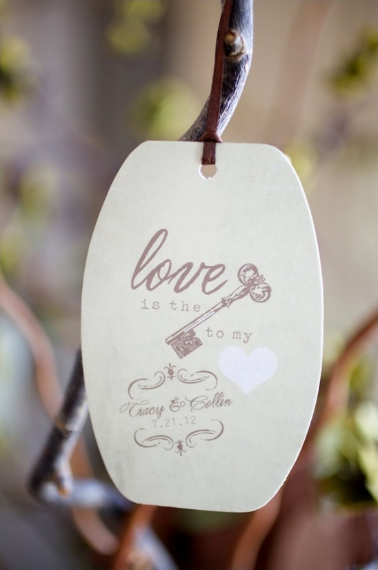 let your guests wish you well with wish tags for a wedding wish tree