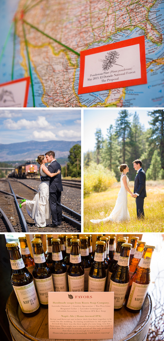 Historic Truckee, Tahoe area wedding photography