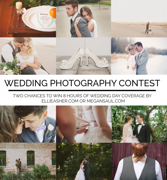 Win 8 hours of wedding photography