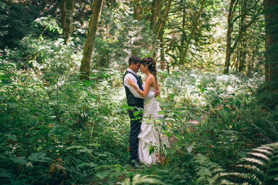 Rustic Pacific Northwest Campground Wedding