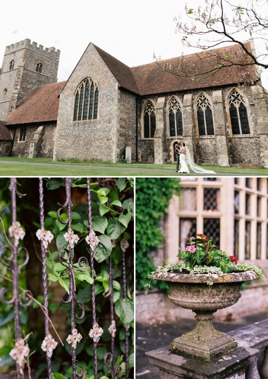 wedding at a historic english church