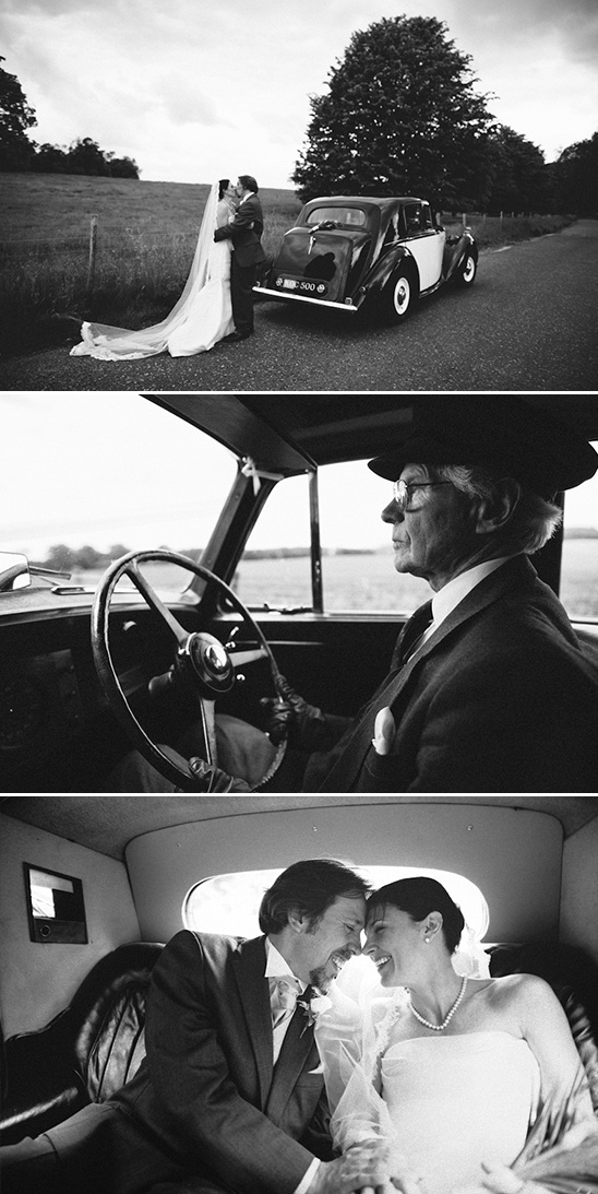 riding in style on your wedding day