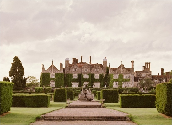 english garden at eastwell manor
