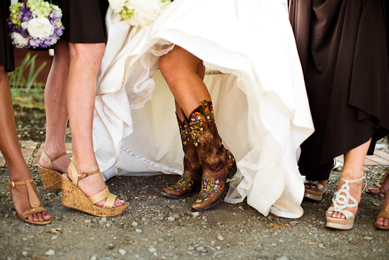 Cowboy Western Chic Wedding by Heather Elizabeth Photography