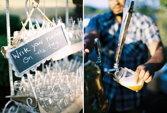 mason jar drinking glasses for your guests