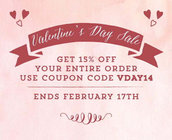 Get 15% off ALL wedding stationery!