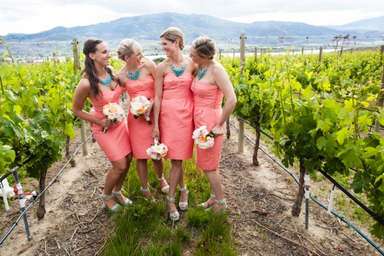 Lindsay & Lorne's Romantic Winery Wedding