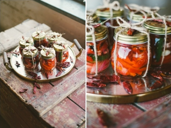 pickled pepper favors