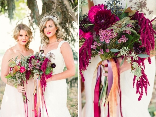 bride and bridesmaid ideas