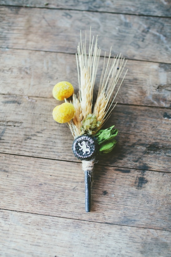 beer enthusiast boutonniere