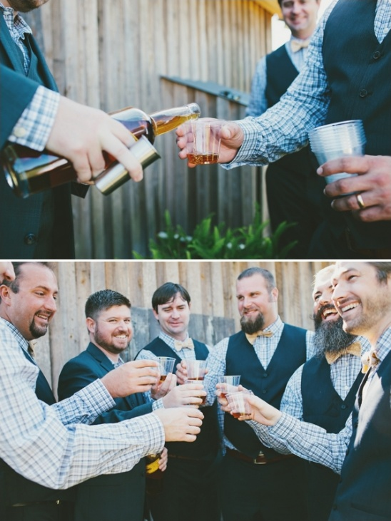 hand crafted wedding beer